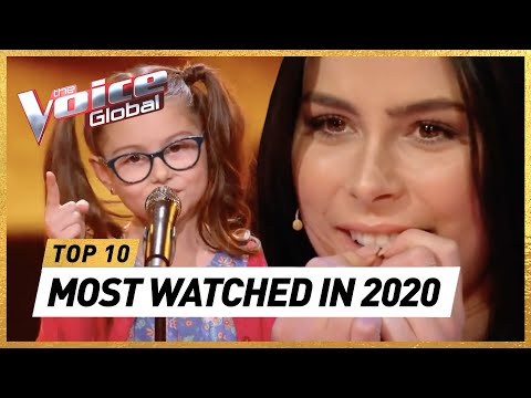 The MOST WATCHED Blind Auditions of 2020 | The Voice Kids Rewind