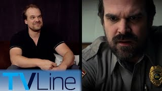 Stranger Things | David Harbour Interview | Comic-Con 2017 | TVLine