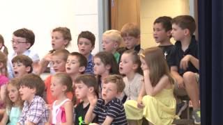The H. Olive Day School Kindergarten Memory Show 2015