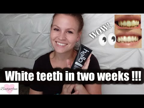White Teeth In Two Weeks Hello Activated Charcoal