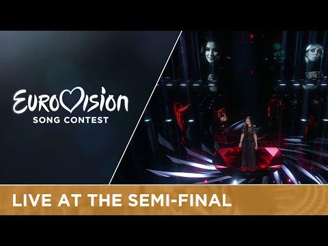 Sanja Vučić ZAA - Goodbye (Shelter) (Serbia) Live at Semi-Final 2 Eurovision Song Contest