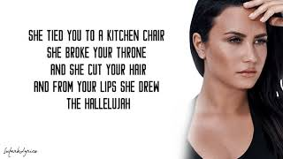 Demi Lovato - Hallelujah (Lyrics)
