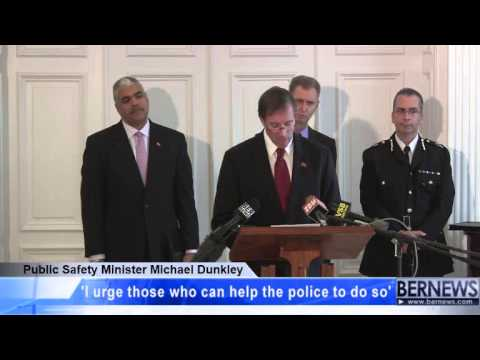 Public Safety Minister Michael Dunkley, Jan 24 2013