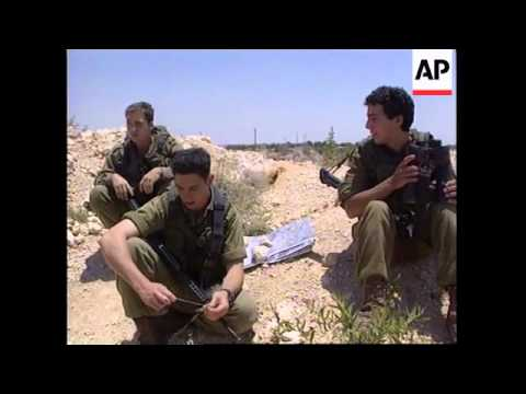 Israelis continue military build up on edge of West Bank
