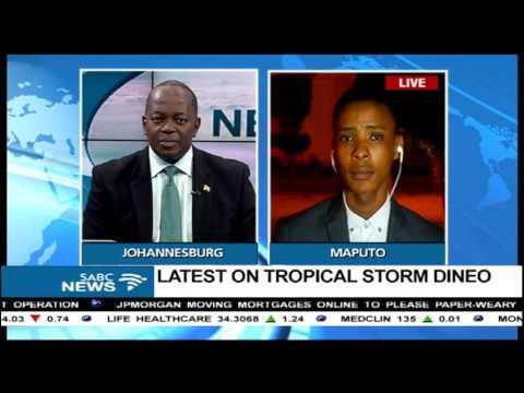 Latest on tropical cyclone Dineo: Tumelo Machogo