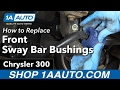 How to Replace Install Sway Bar Bushings 2006 Chrysler 300