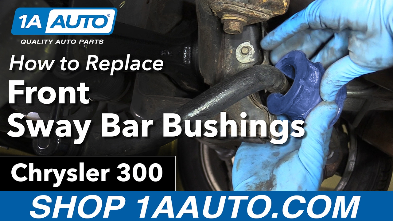 medium resolution of how to replace sway bar bushings 05 14 chrysler 300
