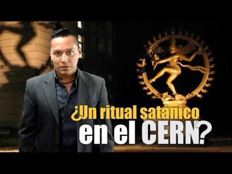 Un ritual satánico en el CERN