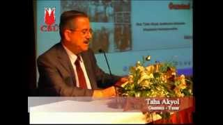 CBÜ Konferans: Gazeteci-Yazar Taha Akyol Atatürk'ün ihtilâl hukukunu