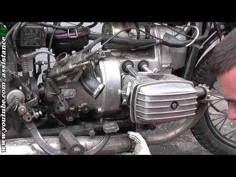 настройка клапанов Мотоцикл днепр #11