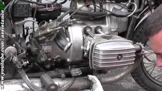 Ремонт поршневої і зняття клапанів Дніпро 11 / Підготовка до притиранні