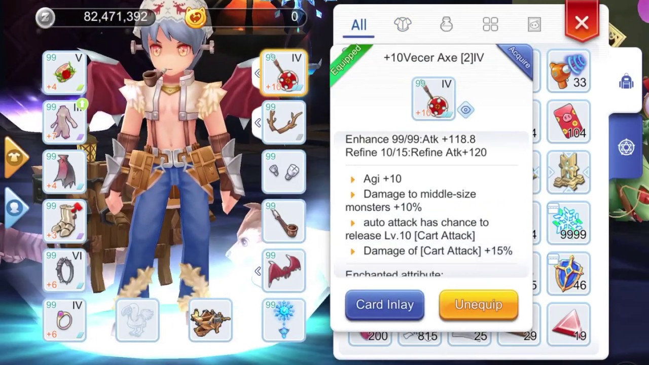 WHITESMITH MVP BUILD - CART ATTACK OR REVOLUTION? RAGNAROK ONLINE MOBILE  ETERNAL LOVE