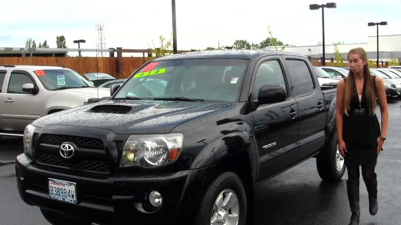 Virtual walk around video of a 2011 toyota tacoma v6 trd sport at titus will toyota in tacoma t31613 youtube
