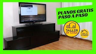 Mueble para TV hecho en casa 1/3 - Cortes