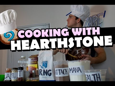 Cooking with Hearthstone