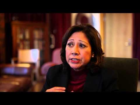 3 with IOP: Former Secretary of Labor Hilda Solis