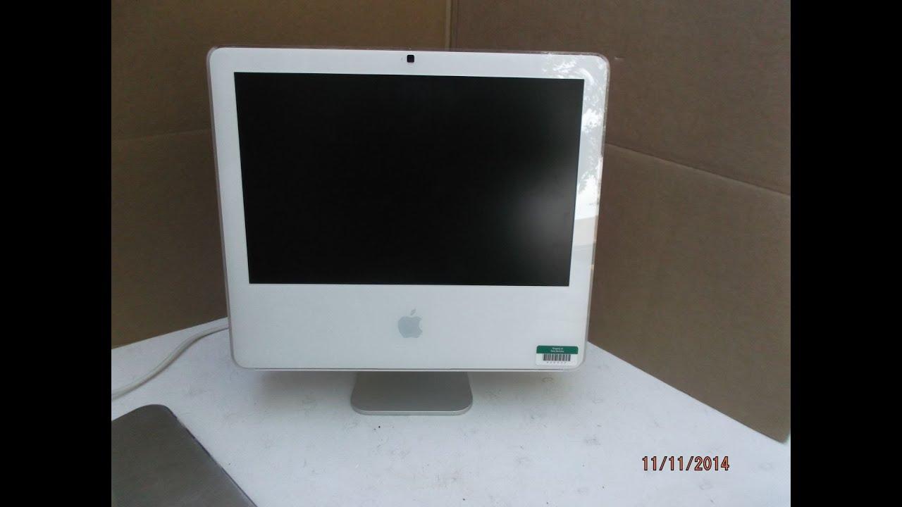 Apple Imac 17 Quot Desktop Intel Core 2 Duo 1 83ghz 2gb Ram