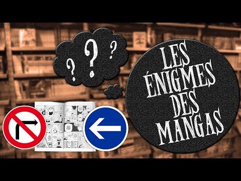 Les énigmes des mangas - Le sens de lecture d'un manga en France