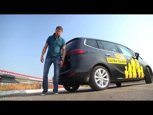 тест Opel Zafira Tourer  www.skorost-tv.ru