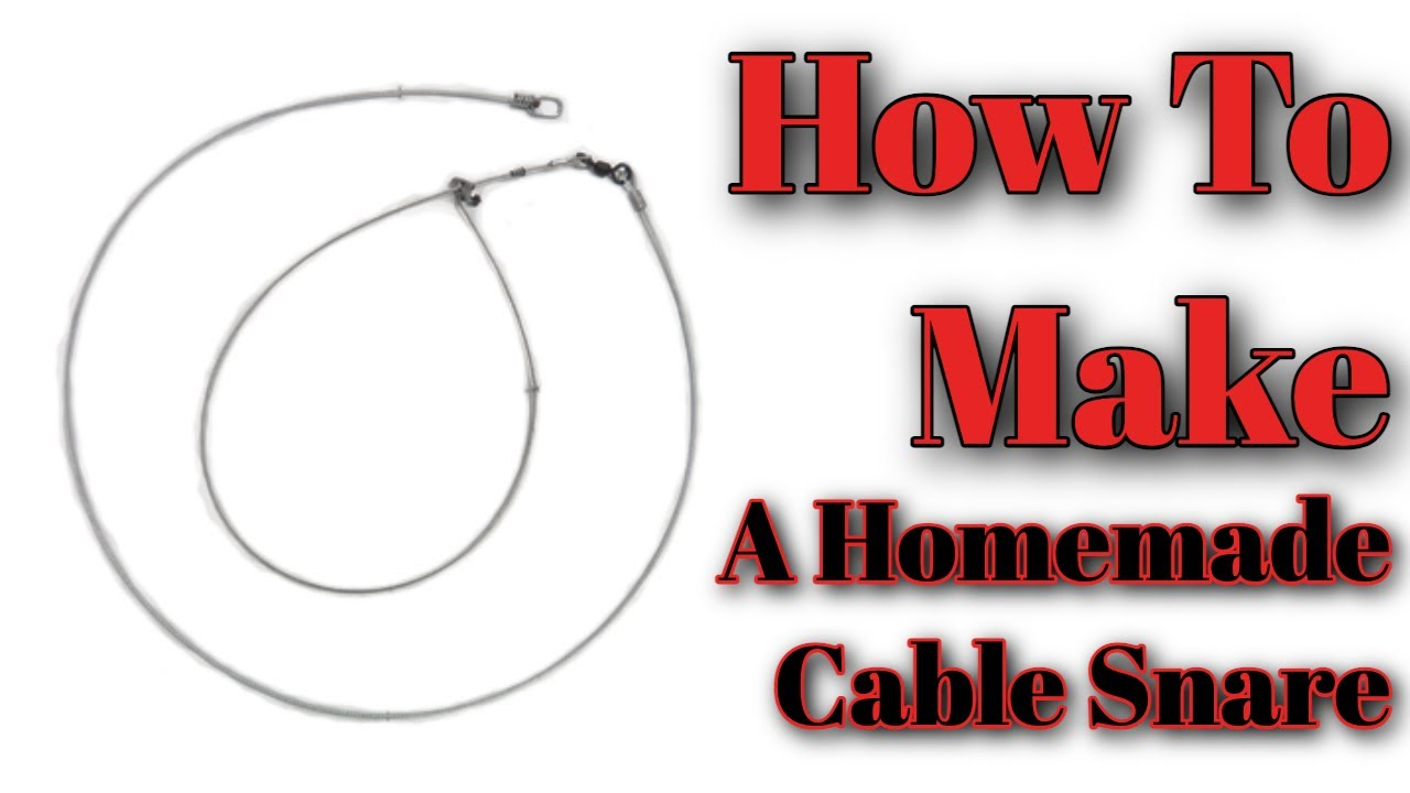 Building a Cable Snare - YouTube
