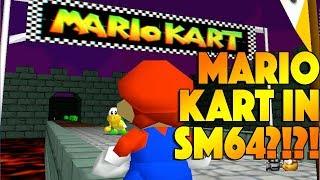 MK64 Bowser's Castle In SM64?!?! - Super Mario 64 Mod Showcase