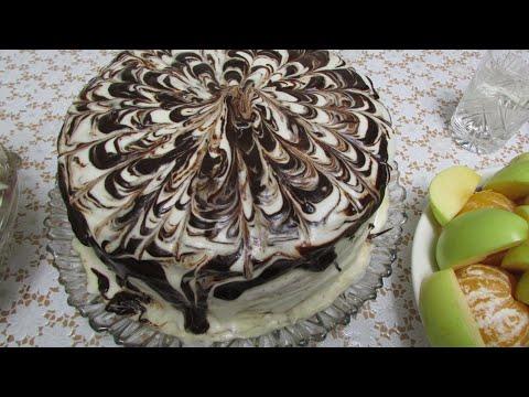 Рецепты тортов в домашних условиях с фото из готовых коржей