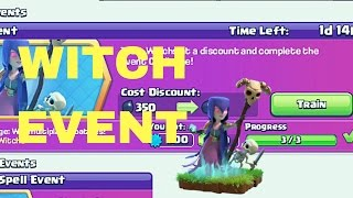 Completing Witch Event Challenge || Clash of Clans || Witch Attacks