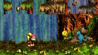 Waterfall Courses [Donkey Kong Country 3 - SNES] (Reserva)