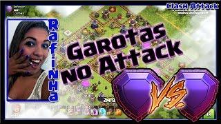 GAROTAS NO ATTACK :: LENDÁRIA X LENDÁRIA :: CLASH OF CLANS