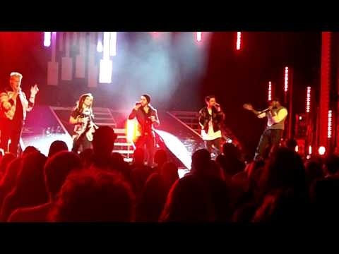 "Pentatonix Encore ""Thrift Shop"" Live Springfield, MO 2/6/2014"