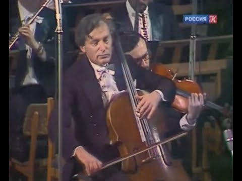 Daniil Shafran - Dvorak Cello Concerto, Moscow 1980