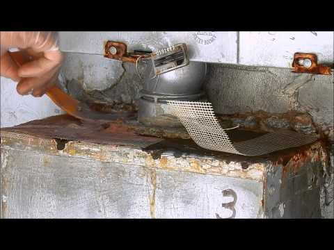 RUSTED ELECTRIC BOX REPAIR