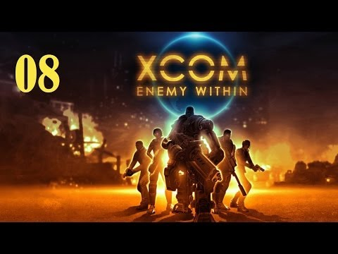 Let's Platinum XCOM Enemy Within part 08 - Taking A Load Off