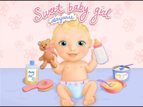 Sweet Baby Girl Daycare & Bath - Baby Sitter Android game - YouTube