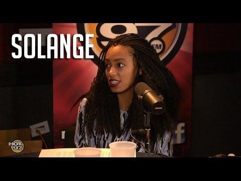 Solange talks motherhood, pulling