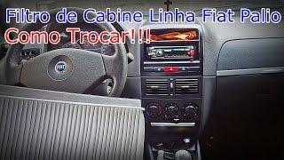 FILTRO DE AR CONDICIONADO - Linha Fiat Palio - Como Trocar - FVM
