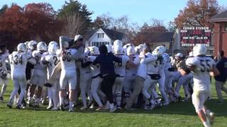 Trinity Football 2016 NESCAC Championship Highlights