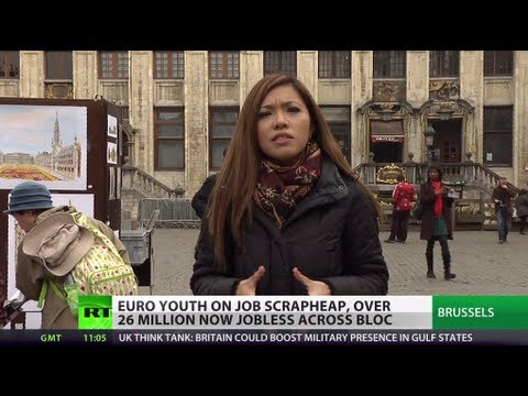 Euro Scrapheap: Many of 26 mn jobless hit road to earn living