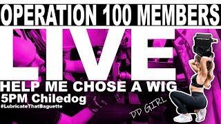 Operation 100 Members - iRacing / Assetto Corsa / Euro Truck Simulator 2 / DD GIRL LOVE SONGS !