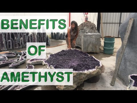 Benefits Of Amethyst Table Beautiful & Functional