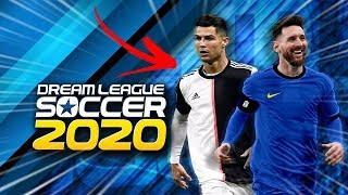 FINALLY!! DREAM LEAGUE SOCCER 2020 WITH UEFA CHAMPIONS LEAGUE AND REALIST FACES + UPDATE