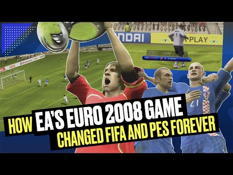 How EA Sports' Euro 2008 Game Changed FIFA and PES Forever