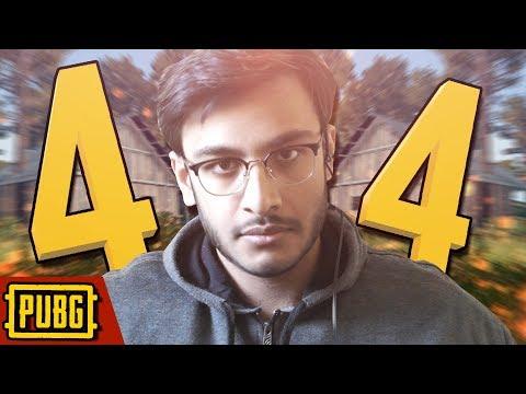 4x4 MAP IS LOVE | PUBG INDIA | RAWKNEE