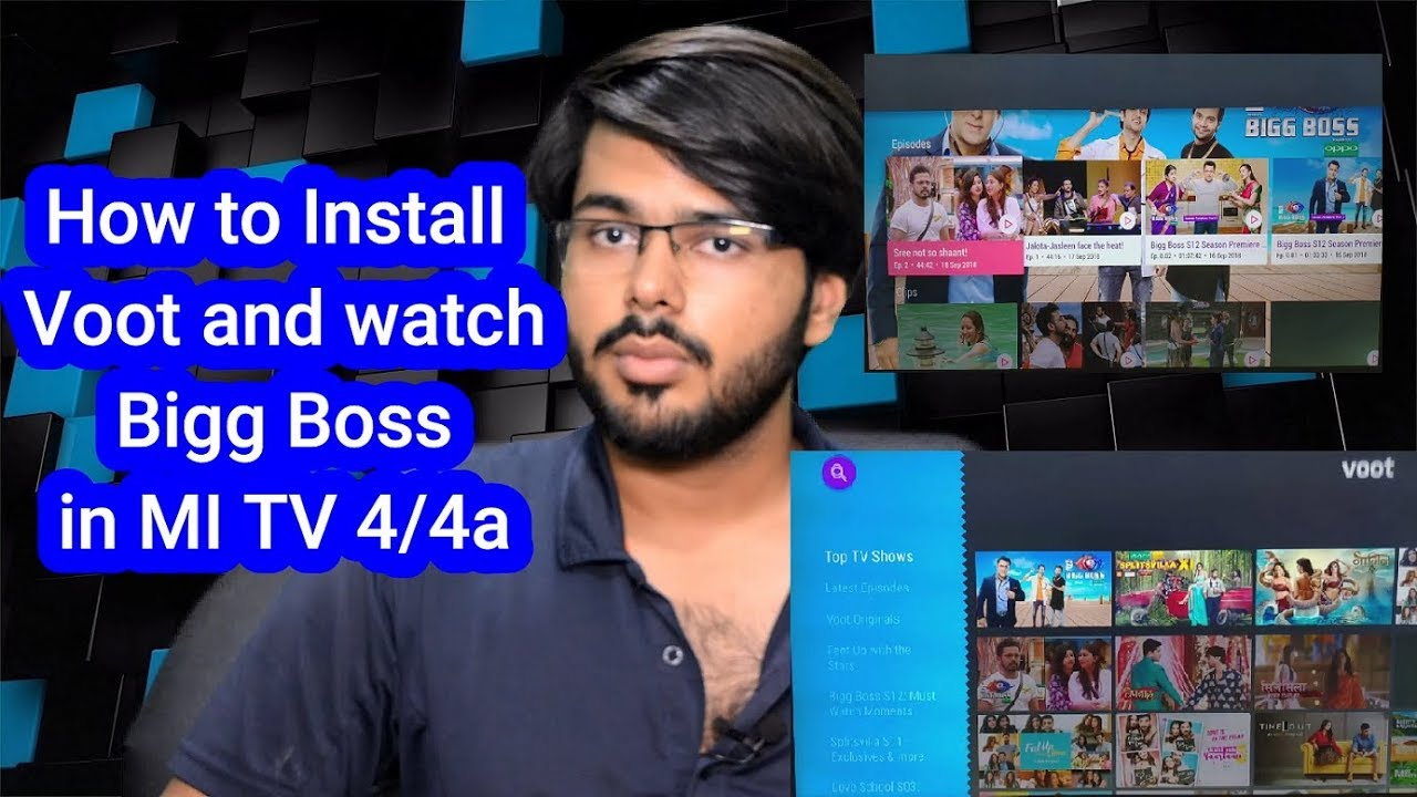 HOW TO INSTALL VOOT AND WATCH BIGG BOSS IN MI TV 4 /4a| # 49