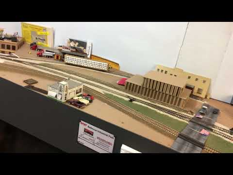 SPSF South Omaha Industrial Spur Model Railroad Layout Welcome Tour