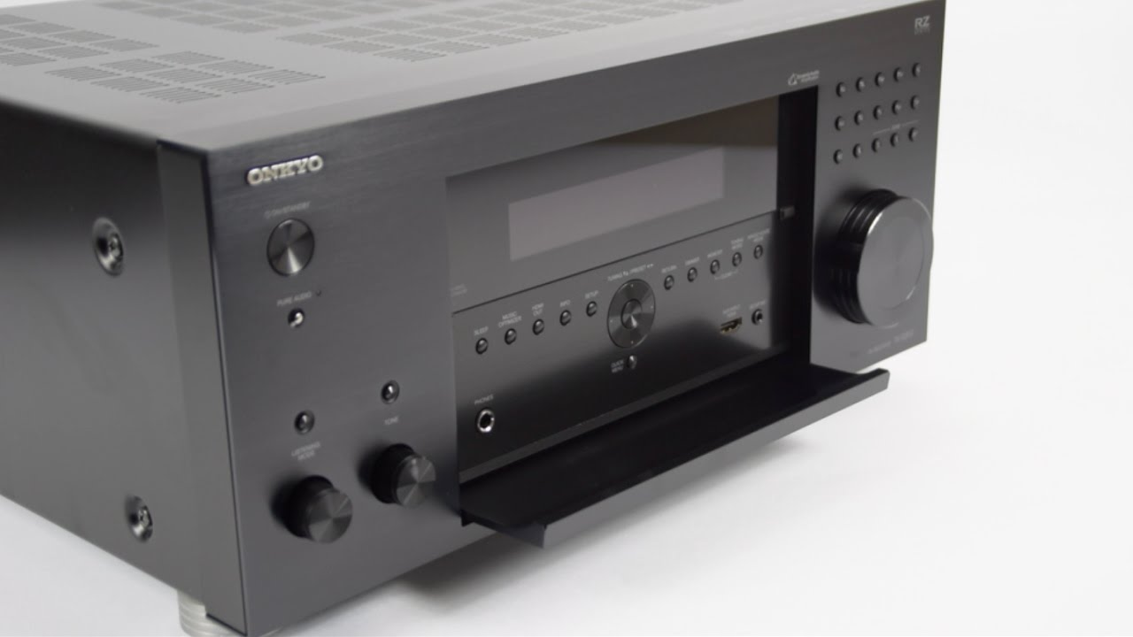 First look at the Onkyo TX-RZ810 7.2-Channel Network A/V