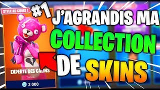 ON AGRANDIT MY SKINS COLLECTION #1 ON FORTNITE Battle Royale