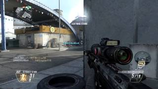 Call of Duty Black Ops 2 Sniper Gameplay | TDM-Standoff | DSR-50, MP7