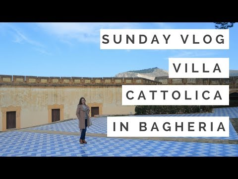 PALERMO SUNDAY VLOG #2 Coffees, antiques and Villa Cattolica | Dragonfly's Heart