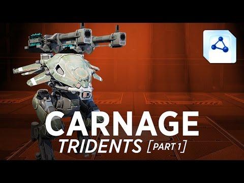 Carnage Tridents - War Robots - Gameplay (Springfield) - Part 1